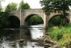 Baslow Bridge, over River Derwent, Baslow