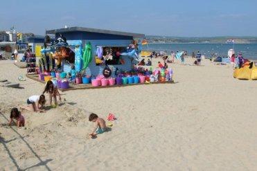 Beach kiosk, Weymouth