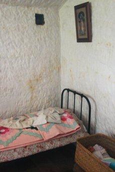 Bedroom, lower Rock House, Holy Austin Rock, Kinver Edge