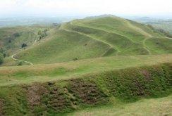 Earthworks, British Camp (Herefordshire Beacon), Malvern Hills