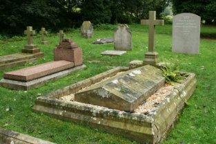 Cavendish family graves, St. Peter's Churchyard, Edensor