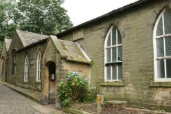 Church Sunday School, where Charlotte Brontë taught, Haworth