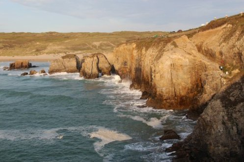 Cliffs, from Droskyn Point, Perranporth