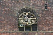 Clock, St. John the Baptist Church, Hanley, Stoke-on-Trent