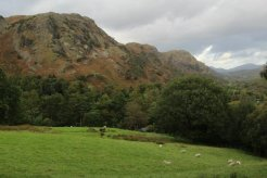 Coniston Fells, from Walna Scar Road, The Old Man of Coniston