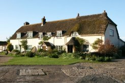 Cottages, Porlock Weir, Exmoor