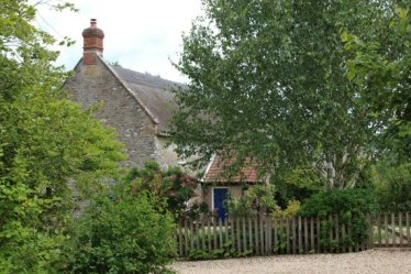 Cottage where Thomas Hardy's mother, Jemima, lived as a child, Melbury Osmond
