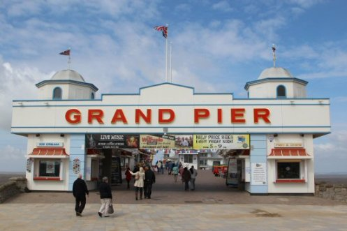 Entrance, Grand Pier, Weston-super-Mare