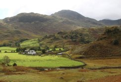 Fell Foot Farm and Castle Howe, Little Langdale