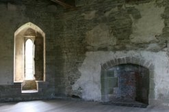 First floor apartment, South Tower, Stokesay Castle