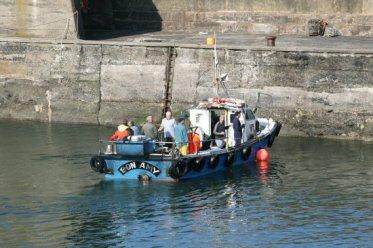 Fishing boat, Harbour, Craster