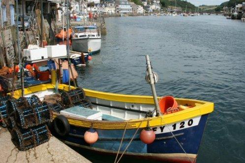 Fishing boat, The Quay, West Looe, Looe