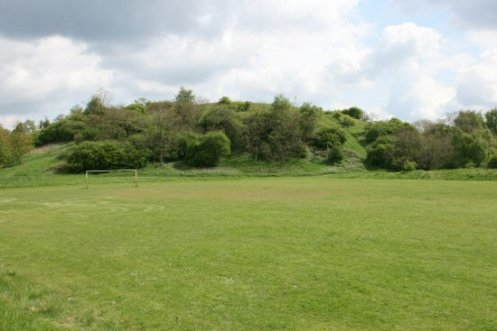 Football pitch, Central Forest Park, Hanley, Stoke-on-Trent