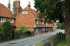Former Weavers' Cottages, Church Row, Goudhurst