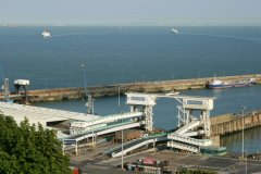 French coast and Eastern Docks, Dover Harbour, Dover