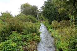 Garden path, Hill Top, The Tale of Tom Kitten, Beatrix Potter, Near Sawrey