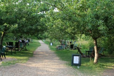 Garden, The Orchard Tea Garden, Grantchester