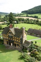 Gatehouse, from South Tower, Stokesay Castle