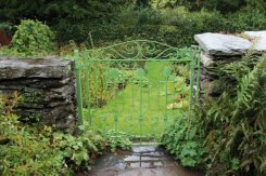 Gate to Mr. McGregor's Garden, Beatrix Potter, Hill Top, Near Sawrey