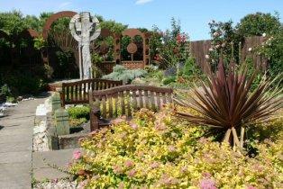 Gospel Garden, Holy Island, Lindisfarne