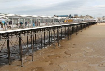 Grand Pier, from end of pier, Weston-super-Mare
