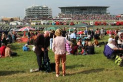 Grandstands, from The Hill, Queen's Diamond Jubilee, The Epsom Derby