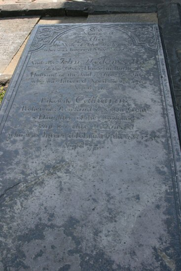 Grave of John and Alice and daughter, Catherine Wedgwood, St. John's Churchyard, Burslem, Stoke-on-Trent