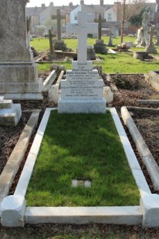 Grave of Maria Susanna Taylor, sister of Ellen Ternan, Highland Road Cemetery, Southsea