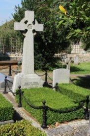 Grave of Randolph Churchill, father of Sir Winston Churchill, St. Martin's Churchyard, Bladon