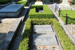 Graves of Diana and Sarah Churchill, St. Martin's Churchyard, Bladon