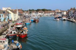 Harbour, from Town Bridge, Weymouth