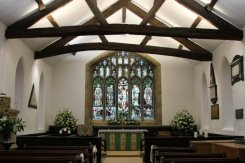 Interior, East Window, Jesus Church, Troutbeck