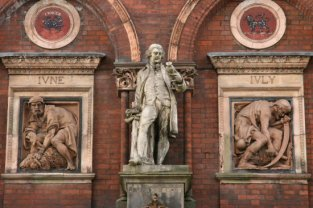 Josiah Wedgwood, Wedgwood Institute, Queen Street, Burslem, Stoke-on-Trent