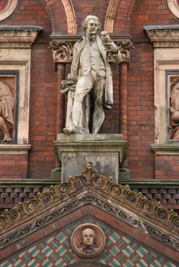Josiah Wedgwood, Wedgwood Institute, Queen Street, Burslem, Stoke-on-Trent