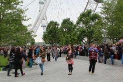 Jubilee Gardens and London Eye, Queen's Diamond Jubilee, Thames Pageant