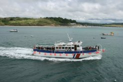 Jubilee Queen, pleasure boat, River Camel, Padstow