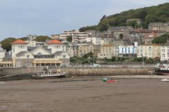 Knightstone Harbour, from Grand Pier, Weston-super-Mare