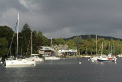 Lakeside, from Fell Foot Park, Newby Bridge, Lake Windermere