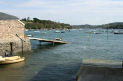 Lifeboat slipway, Salcombe Harbour, Salcombe