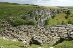 Limestone Pavement, above Malham Cove