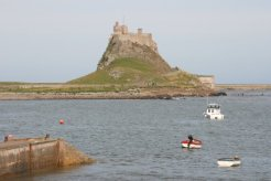 Lindisfarne Castle, from The Heugh, Holy Island