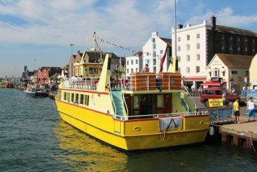 'Maid of Poole' ferry, Poole Harbour, Poole