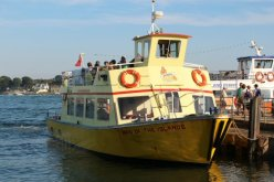 'Maid of the Islands' ferry, Brownsea Island