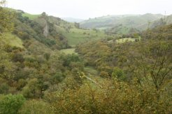 Manifold Valley, from Thor's Cave, Peak District