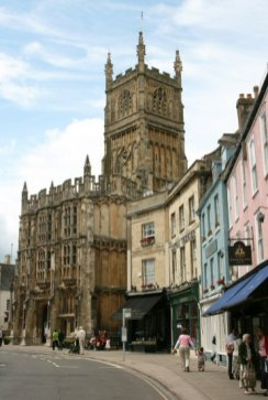 Market Place and St. John the Baptist Church, Cirencester