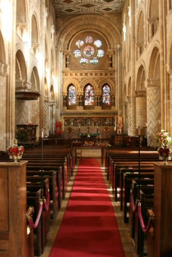 Nave, Waltham Abbey Church, Waltham Abbey