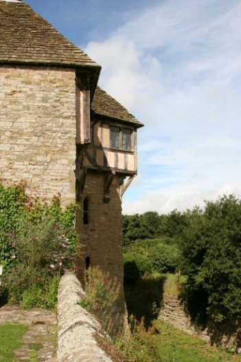 North Tower and Moat, Stokesay Castle