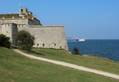 Nothe Fort and Condor Ferry, Weymouth