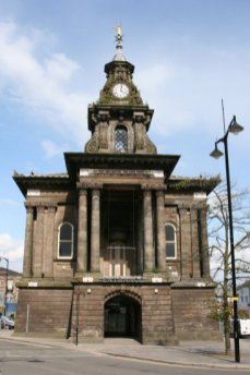 Old Town Hall, Burslem, Stoke-on-Trent