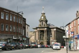 Old Town Hall, Market Place, Burslem, Stoke-on-Trent